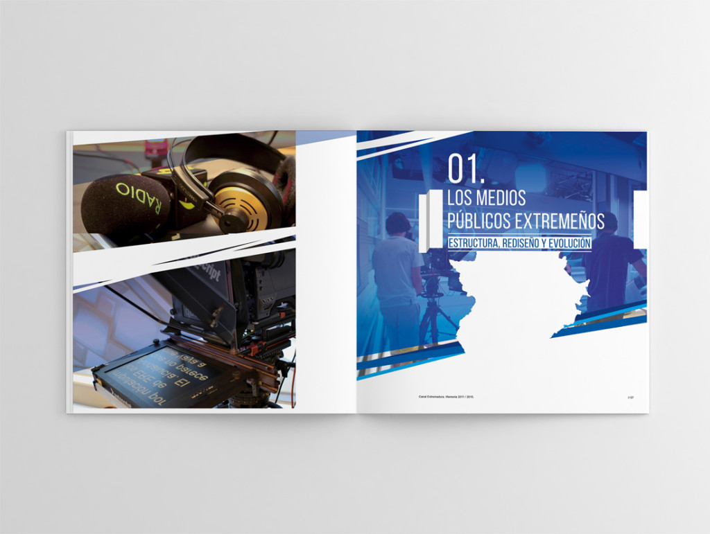 Deseño Editorial, Memoria Canal Extremadura