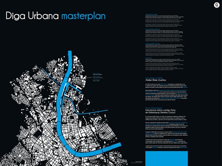 arquitectura, diga urbana masterplan, diseño gráfico, diseño editorial, dirección de arte